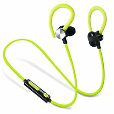 Wireless Bluetooth Headset Stereo Sport Exercise Headphone Earphone for iPhone
