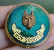 Original old scout large badge