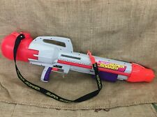 Vintage Larami Super Soaker CPS 2500 MK2 Water Cannon Squirt Gun w/Strap, Works