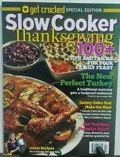Get Crocked Special Edition Slow Cooker Thanksgiving 100 + Recipes FREE SHIPPING