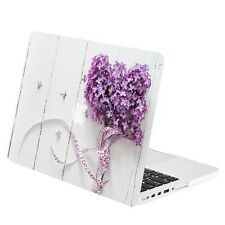 "Purple Bouquet Rubberized Hard Case Cover for Macbook Air 13""  A1369 & A1466"