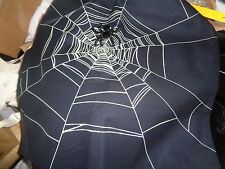 Pottery Barn Halloween spider beaded  table runner 18 X 108 New