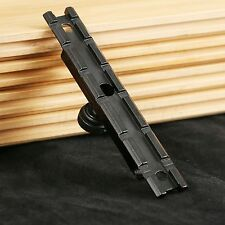 Tactical Carry Handle See-Through Adapter Weaver Rail 20mm Scope Mount Hunting