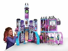 Monster High Iconic High School Playset Giant 4 Ft Tall x 5 Ft Wide! Free Ship!