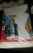 """The A-Team Paper Party Table Cover 1983 Sealed HTF Rare New 52"""" x 96"""" TV Show"""