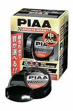 JDM 1PC PIAA OEM HORN MIDDLE TONE 500HZ UNIVERSAL SPORTS GENUINE NEW MADE JAPAN