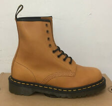 DR. MARTENS 1460 TAN SERVO LUX  LEATHER  BOOTS SIZE UK 5