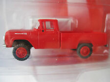 Classic Metal Works #30448 Ford 60 4X4 Pickup Truck Monte Carlo Red  HO- Scale