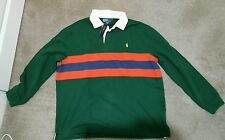 RALPH LAUREN MEN'S RUGBY LONGSLEEVE T-SHIRT. 100% AUTHENTIC. XL.