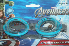 MARVEL AVENGERS SPLASH SWIMMING GOGGLES AGES 4 AND UP BLUE