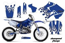 Yamaha Graphic Kit AMR Racing Bike Decal YZ 125/250 Decals MX Parts 96-01 DFLAME