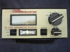 MOLECTRON DETECTOR INC.JOULEMETER DISPLAY MODEL JD1000 (ITEM # 148/14)