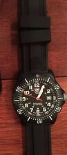 Black Luminox 8801 Carbon Case Navy Seal Men's Watch