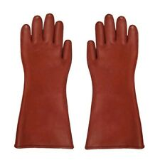 Insulated 12kv High Voltage Electrical Insulating Gloves For Electricians OV