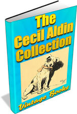 Cecil Aldin 12 Illustrated Books Dogs, Horses, Fox Hunting, Artist, Dog Day DVD