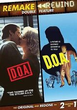 REMAKE REWIND DOA 1950 +1988 New Sealed DVD Double Feature Dennis Quaid #B011