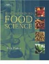 Introduction to Food Science by Rick Parker (Hardback, 2001)