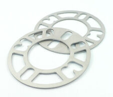"""MRL-C7107-2 Two 1/8"""" Thick 4 & 5 Lug Bolt Pattern Wheel Spacers Aluminum"""