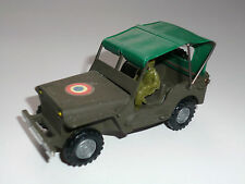 JEEP Frankreich France french military camouflage olive, NN in 1:43 / 8,3 cm!