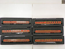 "BACHMANN/SPECTRUM HO R-T-R ""GREAT NORTHERN"" 6 CAR PASSENGER SET (6 PACK)"