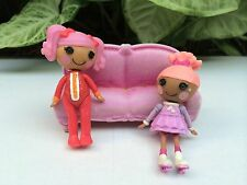 Lot of 2 Mini Lalaloopsy Doll Swirly Figure Eight