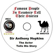 Alcoholics Anonymous AA 12 Step Speaker CD - Sir Anthony Hopkins.