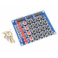 4x4 Matrix Switch Keyboard Push Button Module 8 LED für Arduino AVR ARM