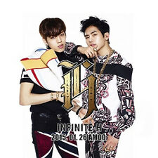 INFINITE H-[FLY AGAIN] 2nd Mini Album CD+Poster(On pack)+Photo Card K-POP Sealed