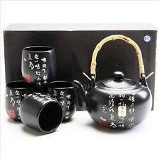 Calligraphy Porcelain Tea Set Teapot Teacup X2935/B S-2271