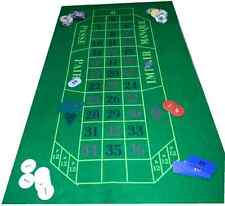 Verde Baize Layout per Roulette e Nero Jack