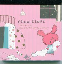 San-X Chou-Fleur Rabbit 2 Design Mini Memo Pad #2