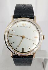Mens GF 10k  WITTNAUER Winding Watch 1960s* EXLNT Condition* SERVICED