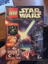 DVD LEGO Star Wars The Empire Strikes Out w/ Exclusiv Darth Vader Minifigure NEW