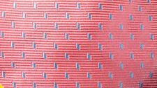 THOMAS PINK MADE IN ENGLAND PINK BLUE GEOMETRIC SILK NECKTIE TIE HNO0216A #V36