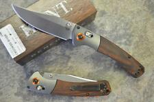 Benchmade HUNT 15080-2 Crooked River Knife w/ Wood Handle & S30V Blade