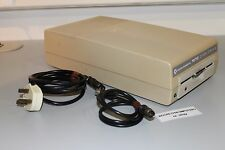 COMMODORE 64 128 1570 5.25 EXTERNAL FLOPPY DISK DRIVE + CABLES + TESTED