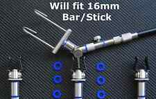 Fishing Tackle Bite Alarm o rings X25 Blue fit 16mm Buzz Bar Bank Stick bbs25