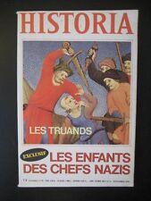 HISTORIA n° 384 - LES TRUANDS AU MOYEN AGE - LES ENFANTS DES CHEFS NAZIS -