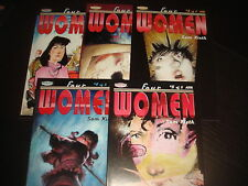 FOUR WOMEN #1 2 3 4 5  Complete Set Sam Keith The Maxx Homage Comics 2002   NM