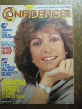 CONFIDENCES 1966 (8/8/85) CHANTAL NOBEL