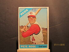 1966 Topps #30 Pete Rose DP UER/1963 Hit total is wrong Ex