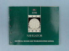 Electrical & Vacuum Troubleshooting Manual, 1998 Lincoln Navigator, FCS-12563-98