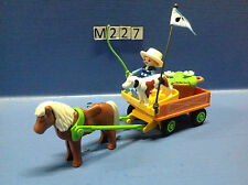 (M227) playmobil charette enfant poney ranch 3118 3120 3117