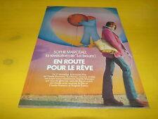 SOPHIE MARCEAU - Mini poster couleurs !!! EN ROUTE POUR LE REVE