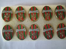 lotto 10 pins lot TERNANA CALCIO FC club spilla football pins spille badge