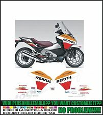kit adesivi stickers compatibili integra 700 r repsol