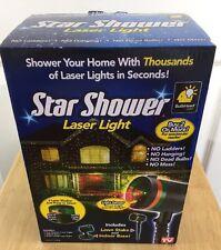 Star Shower Laser Light New In Box Christmas House Lights System