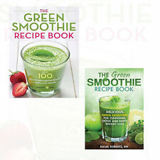Green Smoothie Recipe Book Collection 2 Books Set Pack NEW Paperback English UK