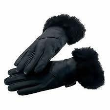 Gloves  Women Gloves in pure Leather for Winter n Rainy Season for driving