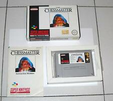 Super Nintendo SNES THE CHESSMASTER OTTIMO PAL Super Nes Scacchi